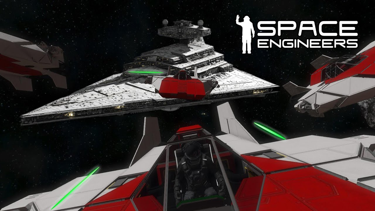 space engineers red squadron attack on the imperial. Black Bedroom Furniture Sets. Home Design Ideas