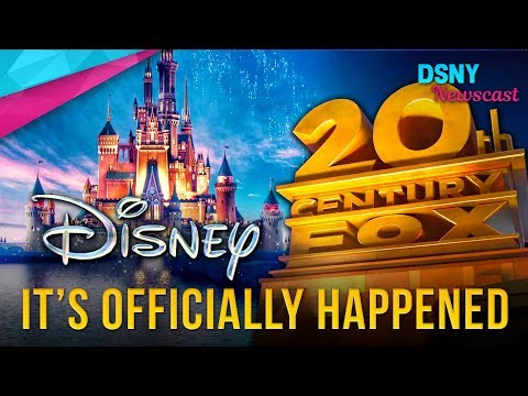 OFFICIALLY CONFIRMED - Disney BUYS 21st Century Fox - Disney News - 12/14/17