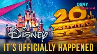 OFFICIALLY CONFIRMED - Disney BUYS 21st Century Fox - Disney News - 12/14/17