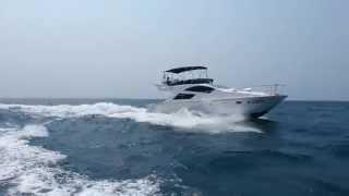 2015 Monte Fino C45 Sports Fish motor catamaran Sea Trial 3