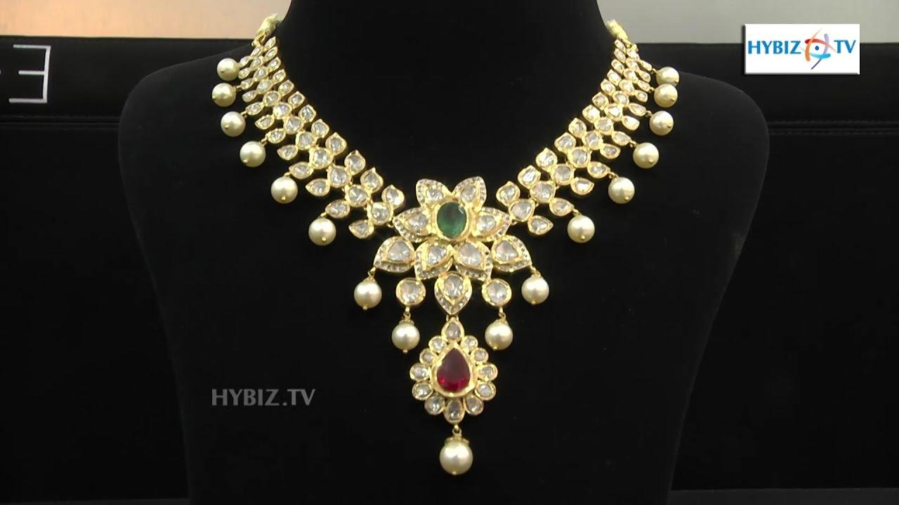 Latest Diamond Necklace Set | Malabar Gold and Diamonds | hybiz ...