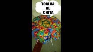 Como fazer uma linda toalha de Chita