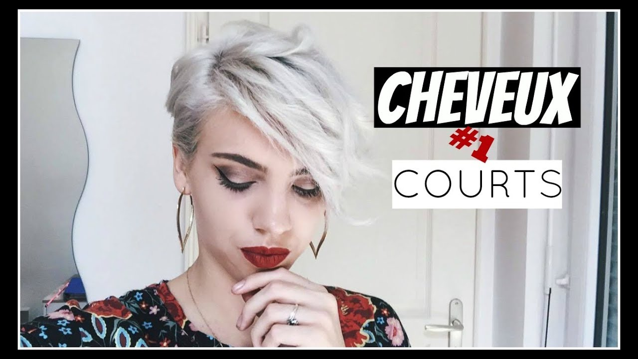 Coiffer Ses Cheveux Courts 1 Youtube