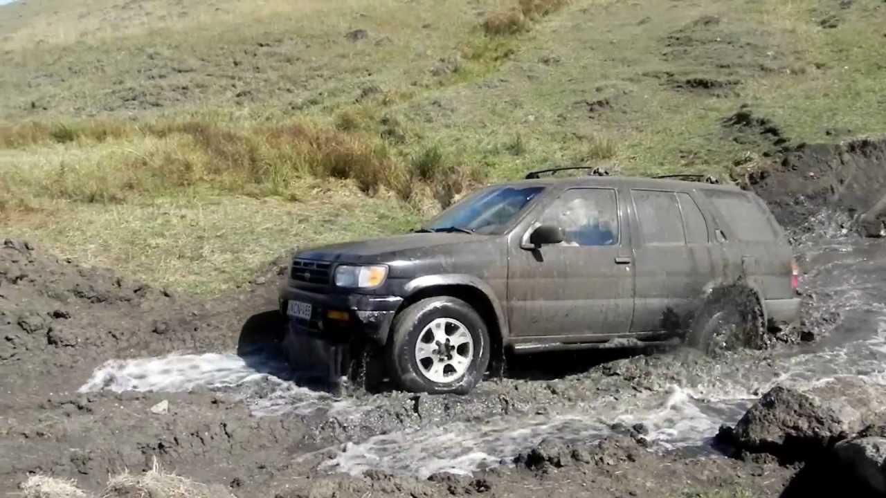 nissan pathfinder 1998 off road mudboy - driver-vasil burduli