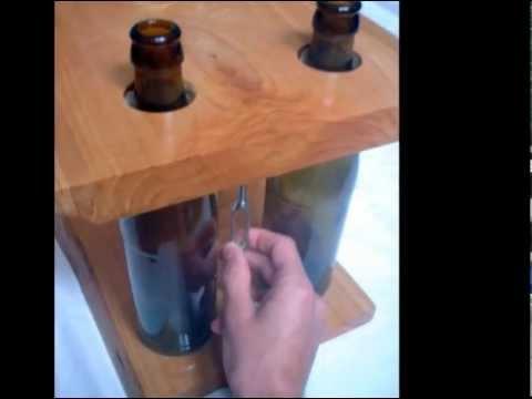 видео: Модульная полка с бутылками и досками