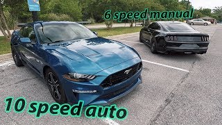 I raced a 2018 Roush Supercharged Mustang..