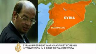 Andrew Gilligan talks to Al Jazeera about Syria's Assad
