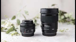 50mm Comparisons for Food Photography