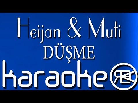 Heijan & Muti - DÜŞME (KARAOKE, INSTRUMENTAL)