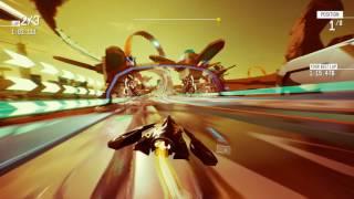 Redout - Mars Pack DLC - Curiosity Race Gameplay