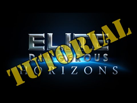 Elite Dangerous: Horizons Tutorial 3 - Planetary Points of Interest