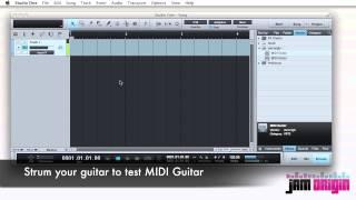 How to use JamOrigins MIDI Guitar with PreSonus Studio One