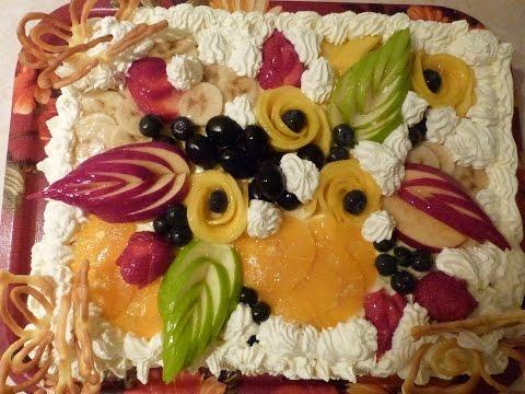 торт тропиканка рецепт с фото без выпечки