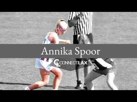 Annika Spoor Lacrosse Highlights - NJ 2021 - Mid, Def, Draw