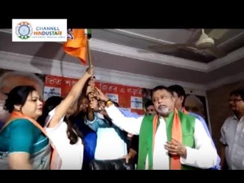 TMC STUDENT JOINS BJP
