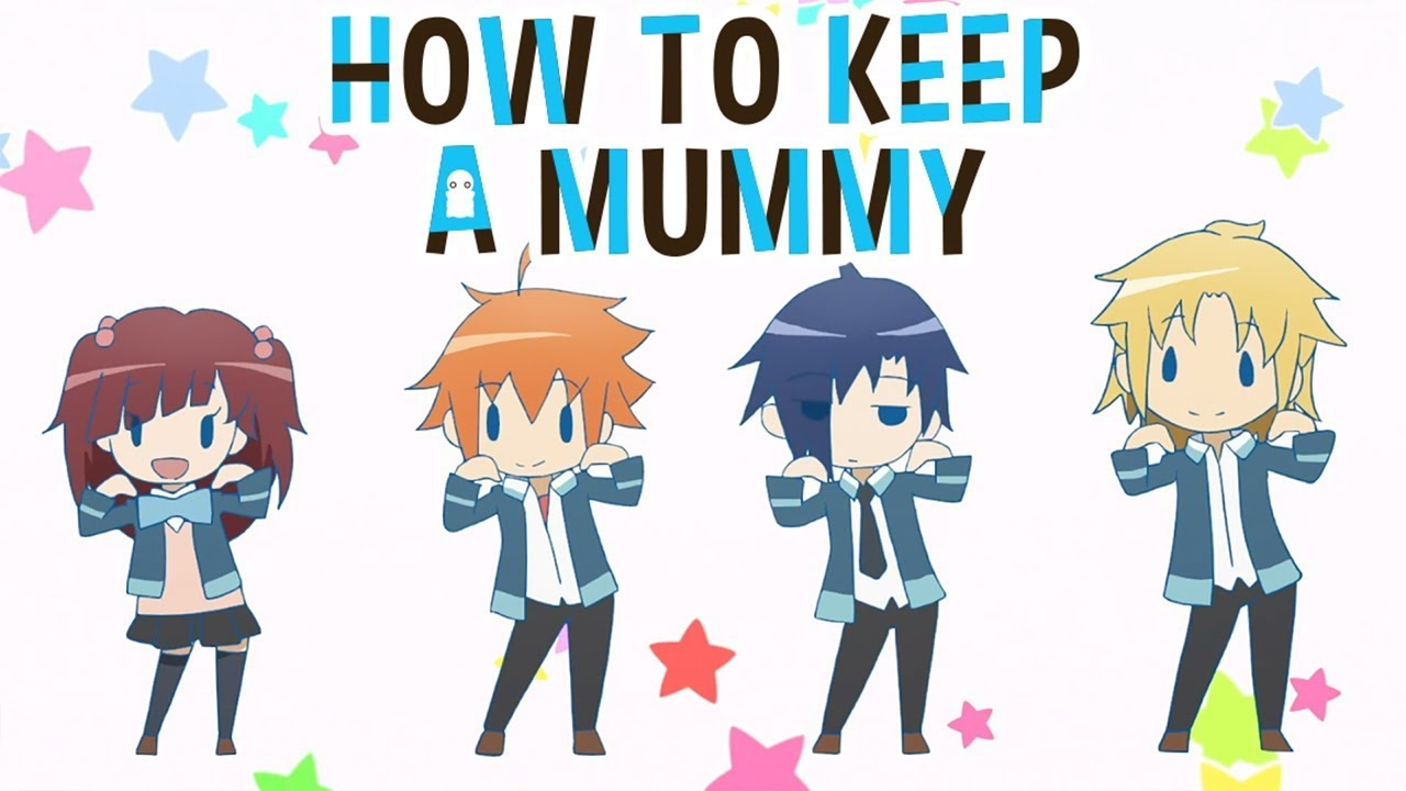 How To Keep A Mummy Opening / How to keep a mummy is a puzzle game based on a manga series of the same title.