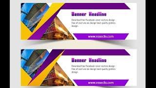 Adobe Photoshop || AK Grafikler ile Muhteşem renkli Web banner Oluşturma