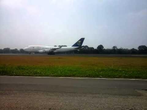 Jet Blast of SAUDI ARABIA