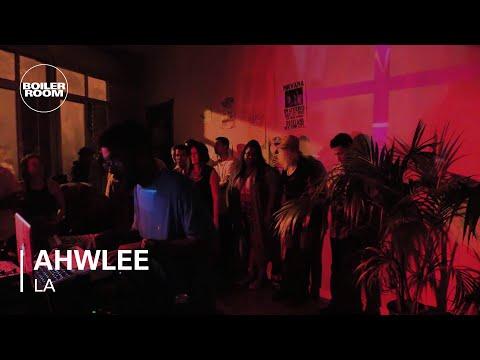 Ahwlee Boiler Room LA Live Set