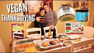 OUR THANKSGIVING 2018: EASY VEGAN COMFORT FOOD RECIPES! | JuicyJas