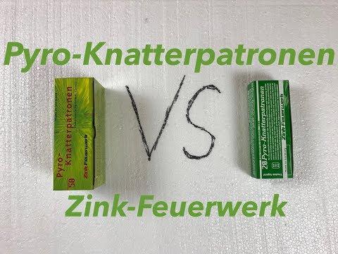 Zink Knatterpatronen 15mm Vergleich - 50er VS 20er Packung - Zink Pyro-Knatterpatronen 15mm
