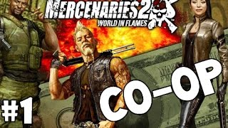 Mercenaries 2: World In Flames | CO-OP Playthrough | Episode 1
