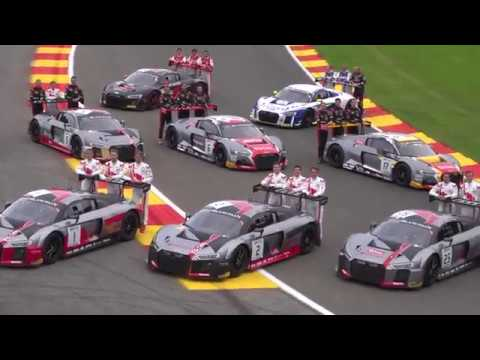 AUDI Footage: 24 Hours of Spa 2017
