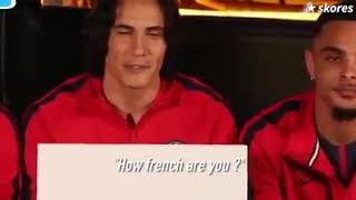 Footballers trying to speak English..... this is hilarious
