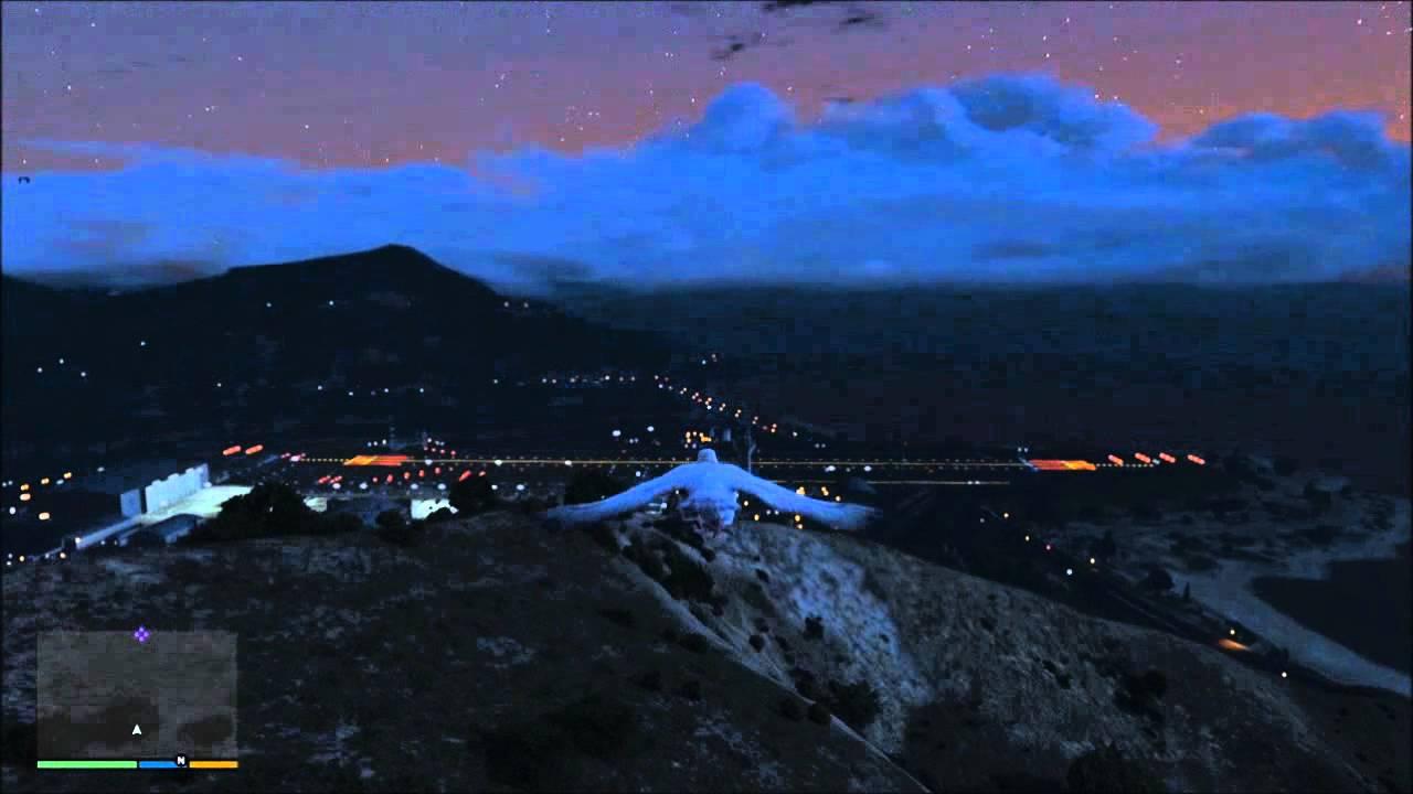 Encounter With Pigeon On Military Ridge >> Gtav Peyote Pigeon Flies To Military Base Youtube