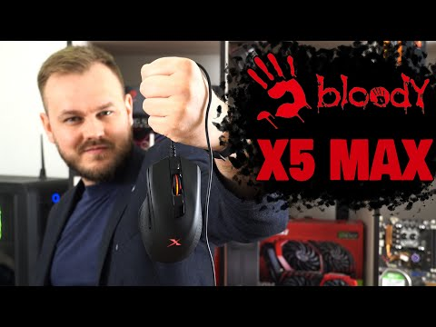 Миша Bloody X5 Max USB Black (4711421948623)