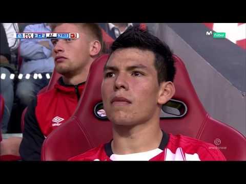 El día del debut: Chucky Lozano vs AZ || Eredivisie || HD 720p || 12.08.17