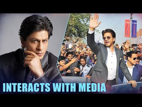 Shah Rukh Khan Interacts With Media At Magnetic Maharashtra Media Session | Part 1