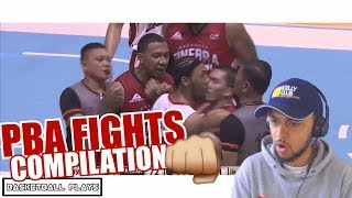 THE BEST PBA FIGHTERS !?! PBA FIGHTS COMPILATION REACTION