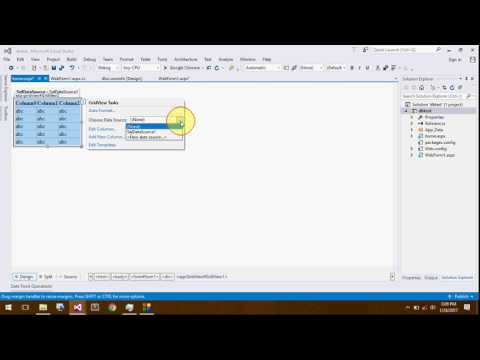 Connection With Database (SQL server database) In ASP.NET using Visual Studio 2012-15