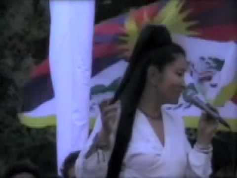 100,000,000 for Tibet: Yungchen Lhamo Leads Biggest Light Protest On Earth