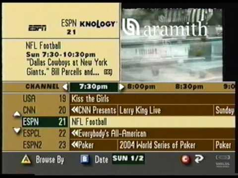 Knology Cable Guide 2004 Youtube