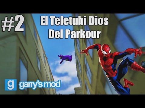 Gmod #2 - EL TELETUBI DIOS DEL PARKOUR
