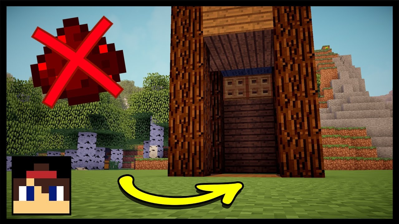 ✓ Minecraft: How To Make A Working Elevator Without Redstone