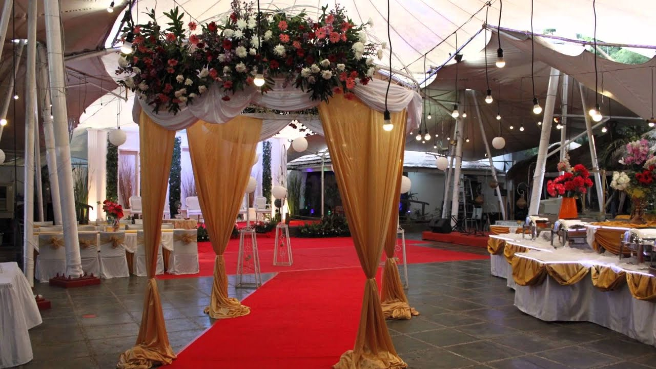 Wedding decoration at bandar djakarta alam sutera youtube junglespirit Choice Image