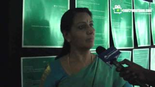 IFFK 2012 : Actress Menaka TALK To metromatinee.com