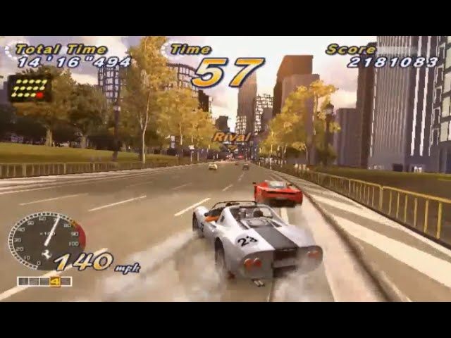 OutRun 2006: Coast 2 Coast (PS2) Playthrough - NintendoComplete