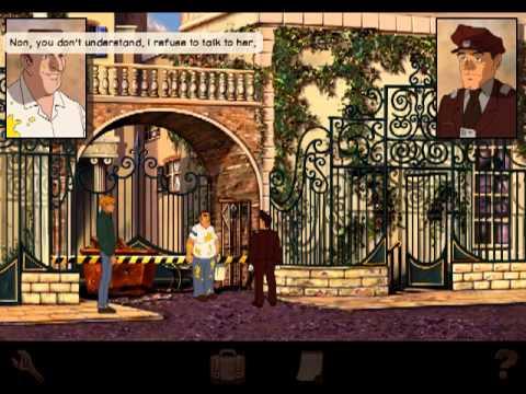 Let's Play Broken Sword Director's Cut! Part 20 - The Villa People  