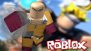 ONE PUNCH MAN VS NARUTO IN ROBLOX | Roblox Anime Cross | Roblox | iBeMaine