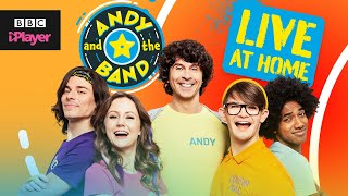 Run Run Run Song | Andy and the Band: Live at Home | CBeebies