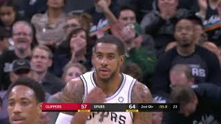 Los Angeles Clippers vs San Antonio Spurs | December 13, 2018