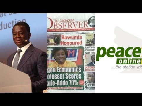 The Ghanaian Observer And Despite Group Peace FM online Sued By Dr Opuni