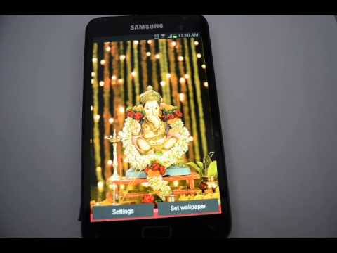 Lord Ganesha Pooja Android Live Wallpaper