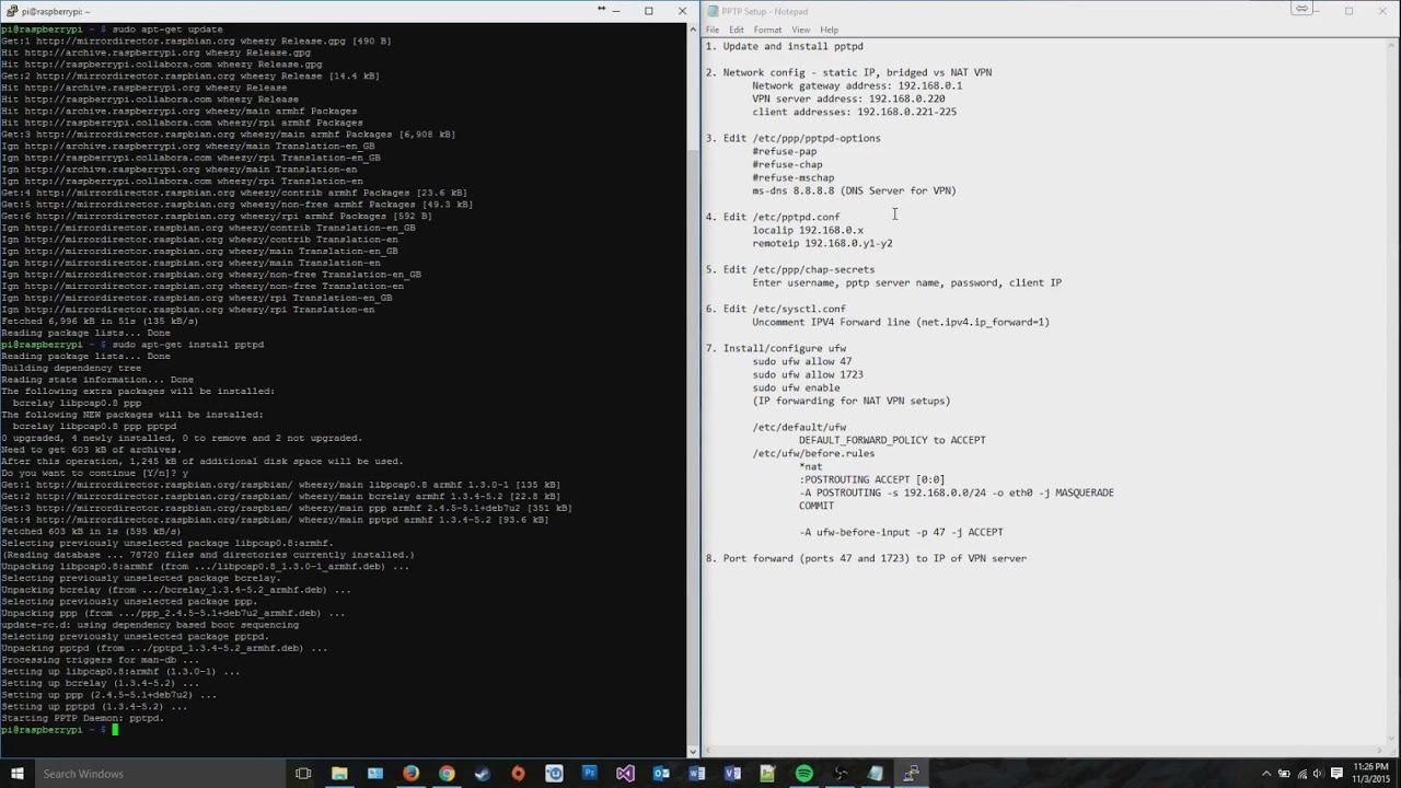 How-To: Easy PPTP VPN Server on Linux (Ubuntu/Debian)
