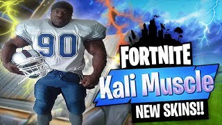 Fortnite Battle Royale | *NEW* FOOTBALL SKINS | 650+ WINS