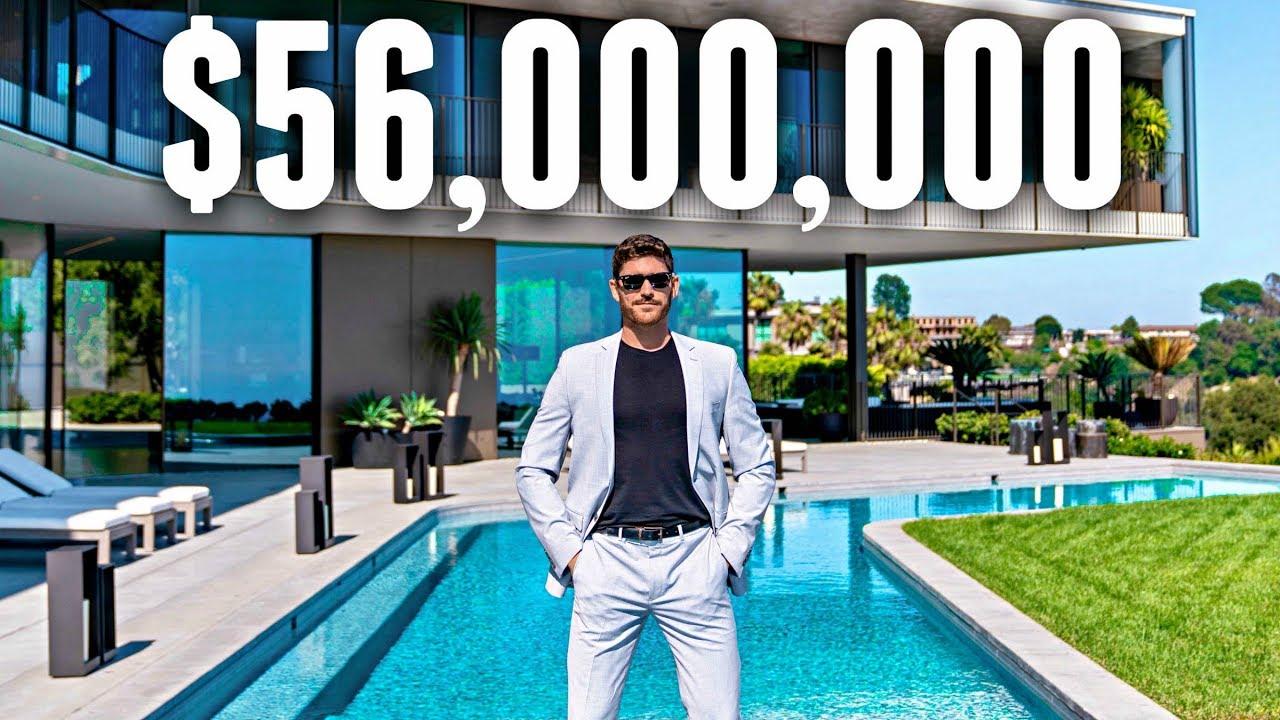 INSIDE a $56 Million Bel Air MEGA MANSION